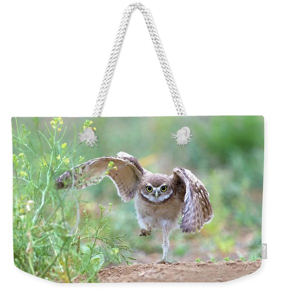Hold On, I'm Comin' Weekender Tote Bag