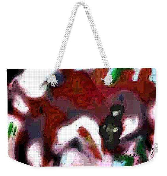 Holding Area Weekender Tote Bag