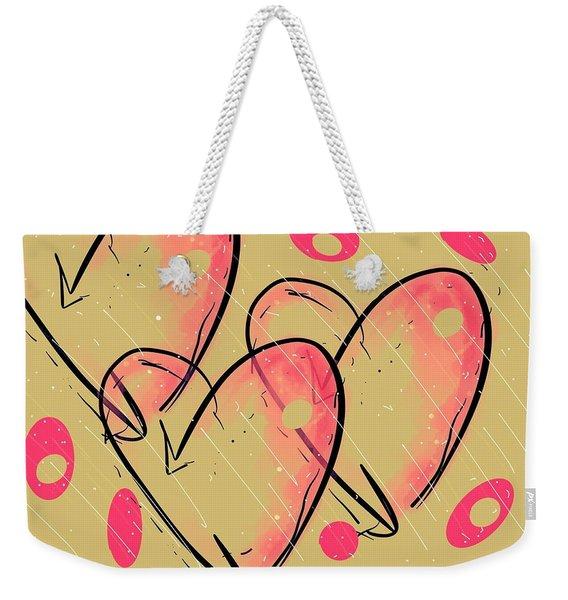 Hole Lotta Love - Neon Pink Edition Weekender Tote Bag