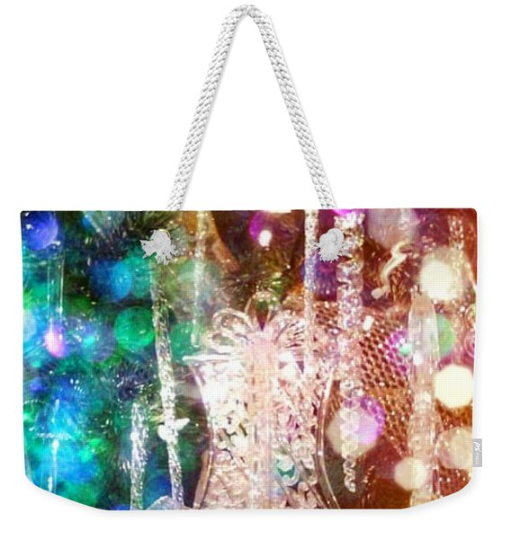 Holiday Fantasy Weekender Tote Bag