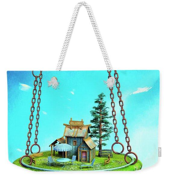 Holidays Weekender Tote Bag