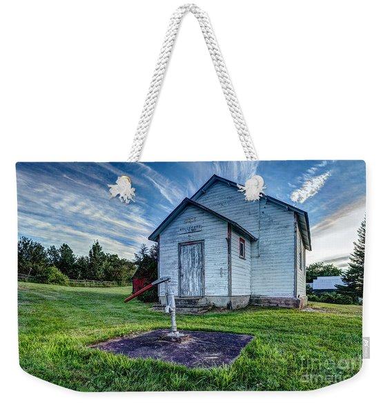 Holleford Schoolhouse Weekender Tote Bag