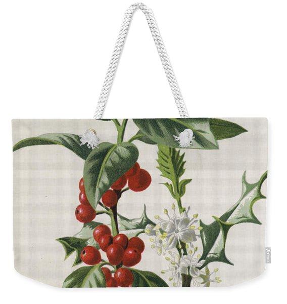 Holly Weekender Tote Bag