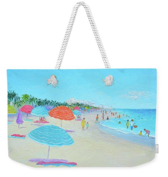 Hollywood Beach Florida Weekender Tote Bag