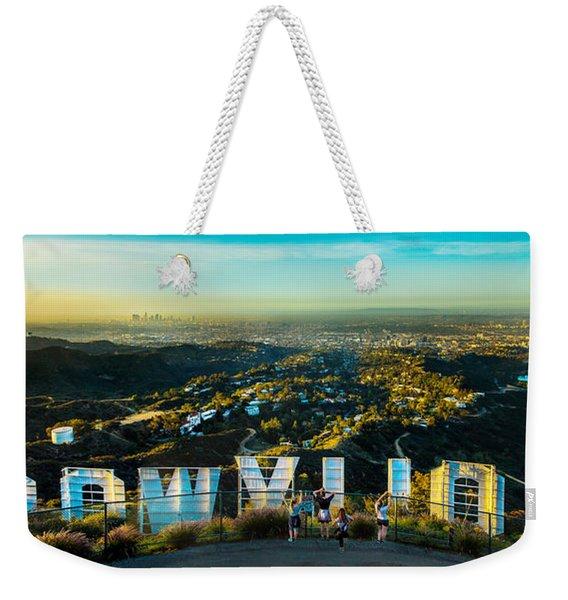 Hollywood Dreaming Weekender Tote Bag
