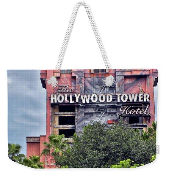 Hollywood Tower Hotel Walt Disney World Mp Weekender Tote Bag