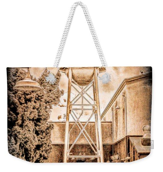 Hollywood Water Tower Weekender Tote Bag