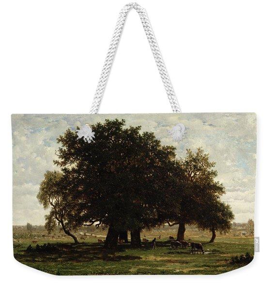 Holm Oaks Weekender Tote Bag
