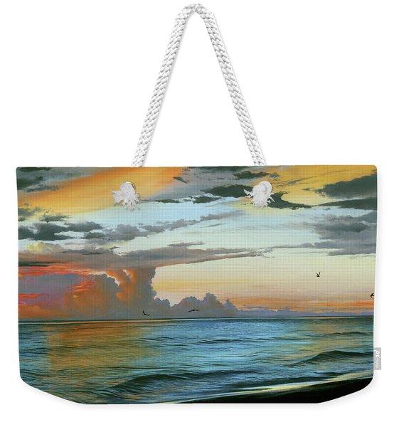 Holmes Beach Weekender Tote Bag
