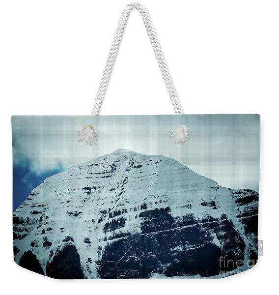Holy Kailas North Slop Fragment Himalayas Tibet Yantra.lv Weekender Tote Bag