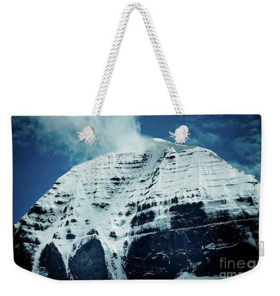 Holy Kailas North Slop Himalayas Tibet Artmif.lv Weekender Tote Bag