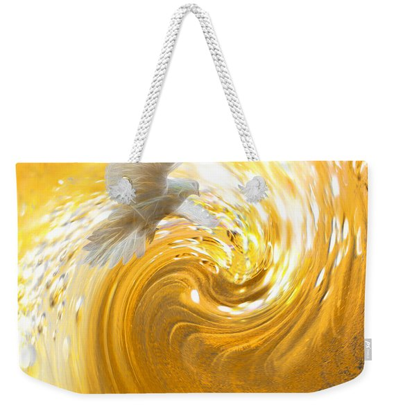 Holy Spirit Come Weekender Tote Bag