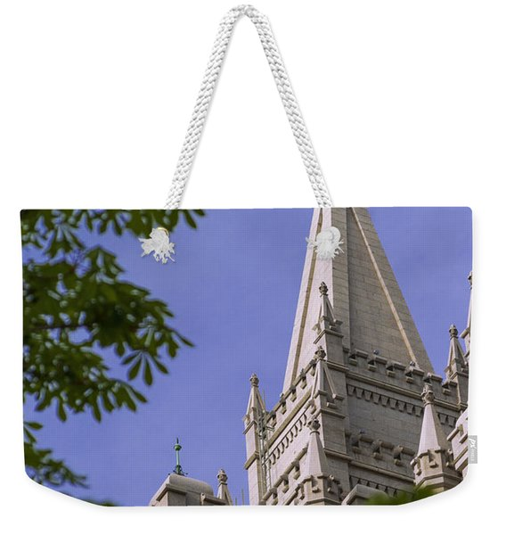 Holy Temple Weekender Tote Bag