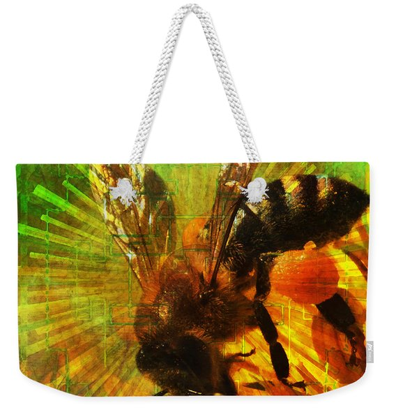 Homage To A Bee 2015 Weekender Tote Bag