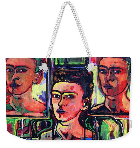 Homage To Frida Kahlo Weekender Tote Bag