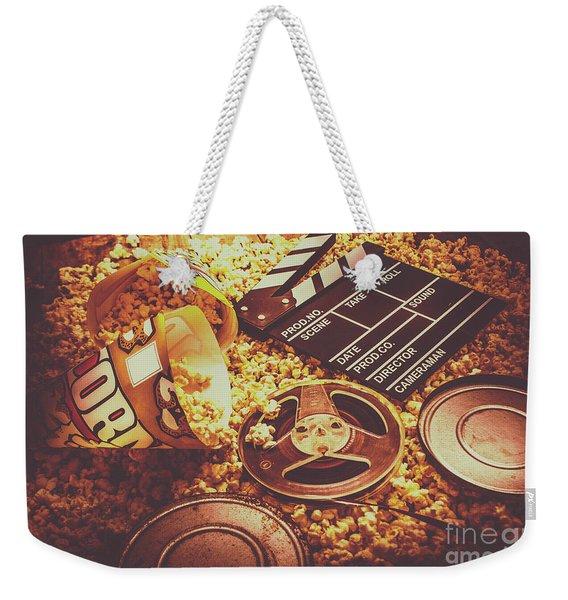 Home Cinema Art Weekender Tote Bag