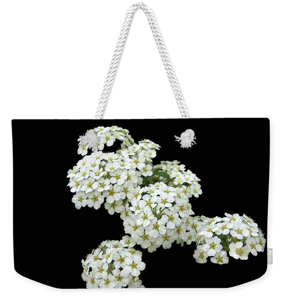 Home Grown White Flowers  Weekender Tote Bag