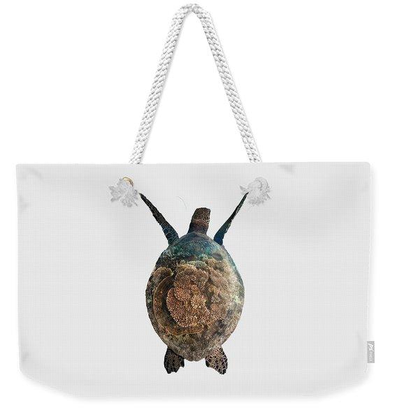 Home I - Turtle  Weekender Tote Bag