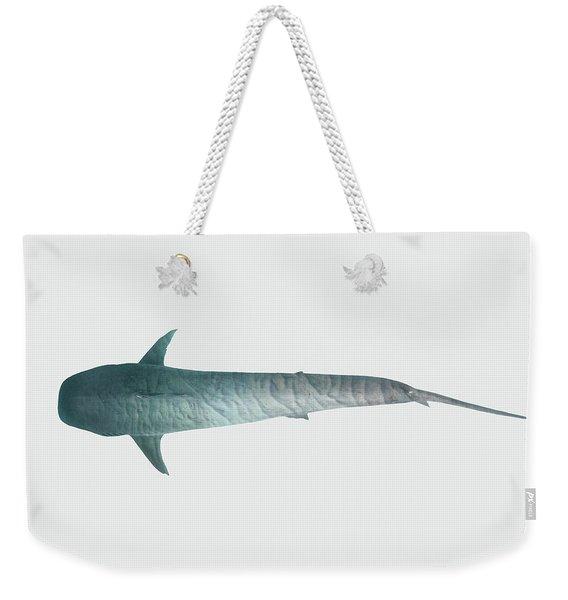 Home II - Tiger Shark Sand Flats Weekender Tote Bag