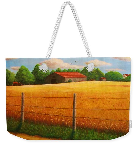 Home On The Farm Weekender Tote Bag