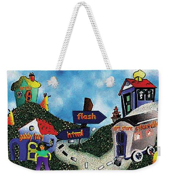 Home Page Weekender Tote Bag