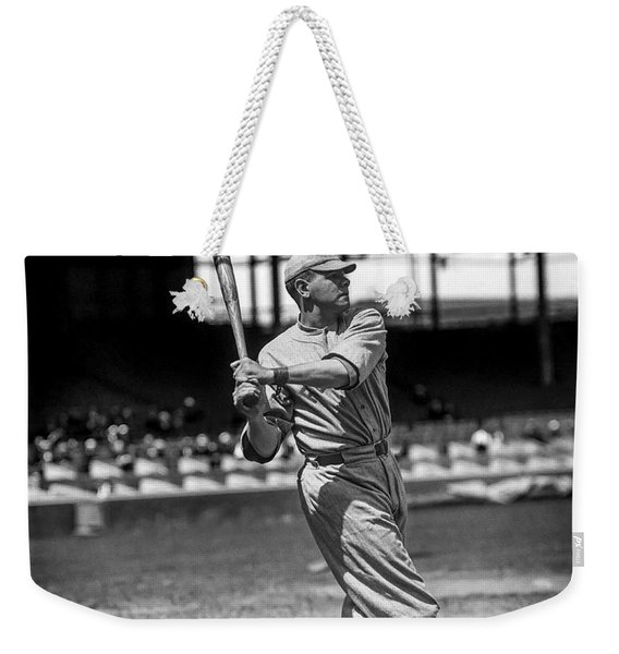 Home Run Babe Ruth Weekender Tote Bag