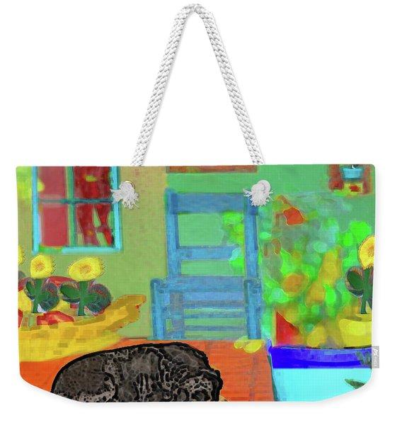 Home Sweet Home Painting 4 Weekender Tote Bag