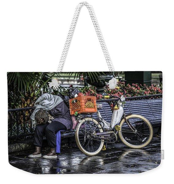 Homeless In New Orleans, Louisiana Weekender Tote Bag