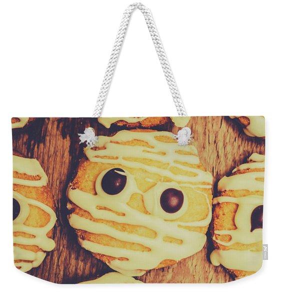 Homemade Mummy Cookies Weekender Tote Bag