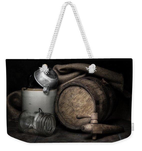 Homemade Whiskey Weekender Tote Bag