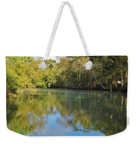 Homosassa River Weekender Tote Bag
