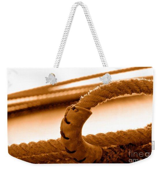 Hondo - Sepia Weekender Tote Bag