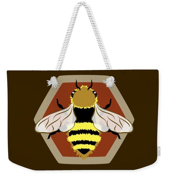 Honey Bee Graphic Weekender Tote Bag