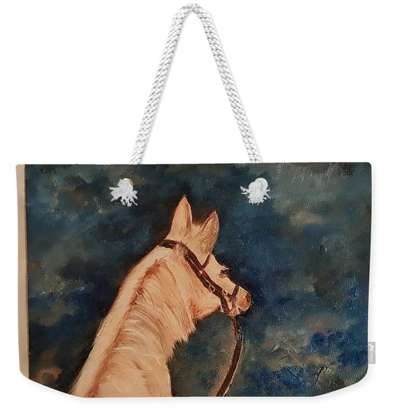 Honey Palomino Horse 28 Weekender Tote Bag