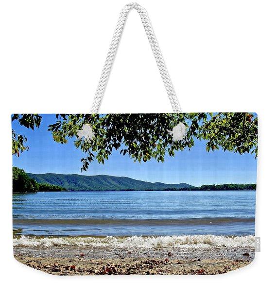 Honey Suckel Cove, Smith Mountain Lake Weekender Tote Bag