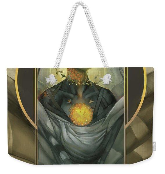 Honeycomb Weekender Tote Bag