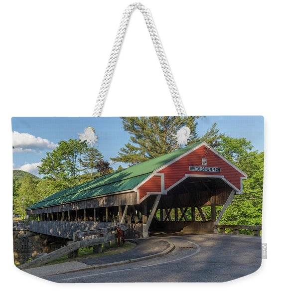 Honeymoon Covered Bridge In Jackson New Hampshire Weekender Tote Bag
