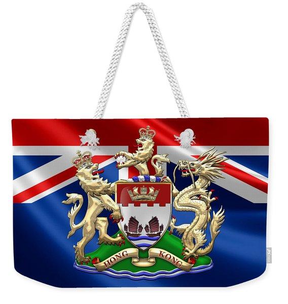 Hong Kong - 1959-1997 Coat Of Arms  Weekender Tote Bag