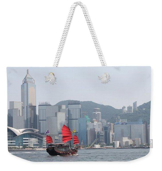Hong Kong Bay Weekender Tote Bag