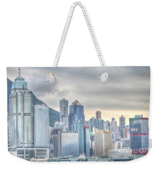 Hong Kong China Weekender Tote Bag