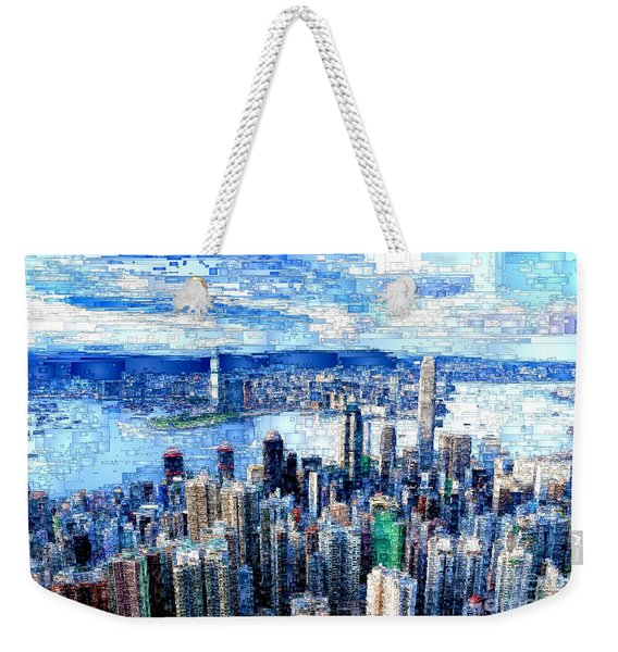 Hong Kong, China Weekender Tote Bag