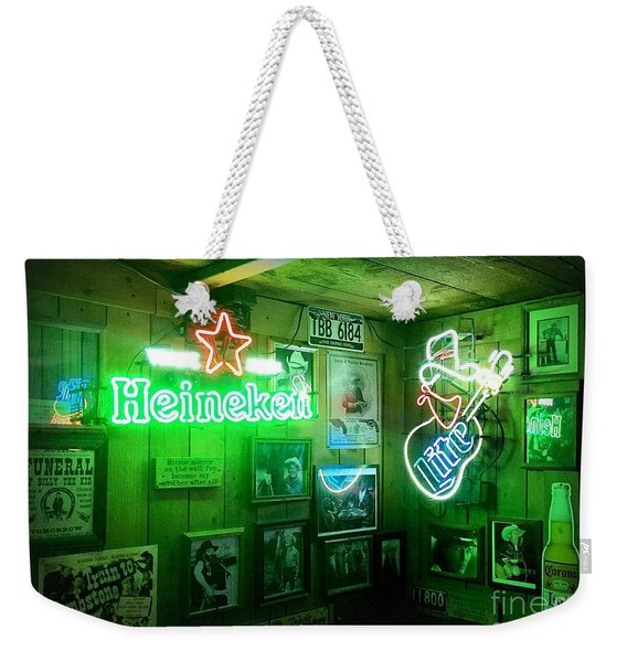 Honky Tonk Weekender Tote Bag