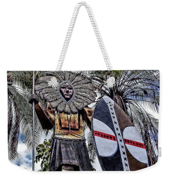 Honolulu Zoo Keeper Weekender Tote Bag