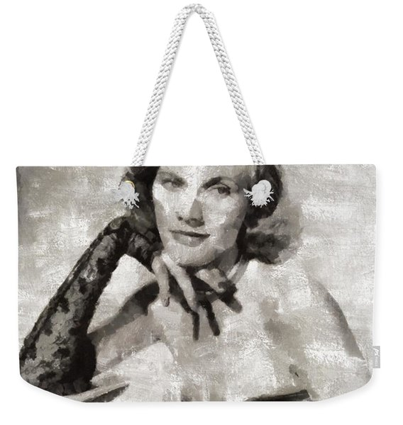 Honor Blackman, Actress Weekender Tote Bag