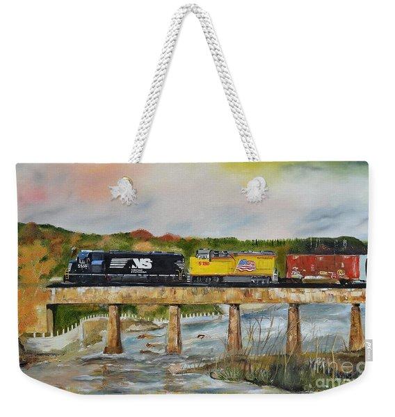 Hooch - Chattahoochee River - Columbus Ga Weekender Tote Bag
