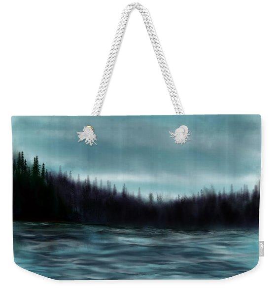 Hood Canal Puget Sound Weekender Tote Bag