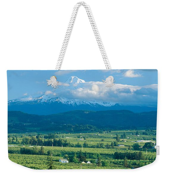 Hood River Valley And Mount Hood, Oregon Weekender Tote Bag