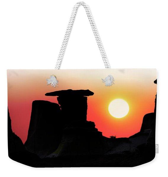 Hoodoo Sunrise Weekender Tote Bag