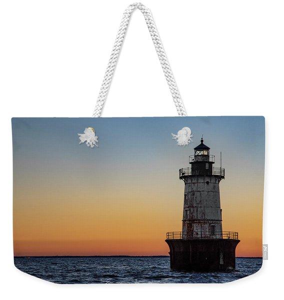 Hoopers Island Sunset Weekender Tote Bag