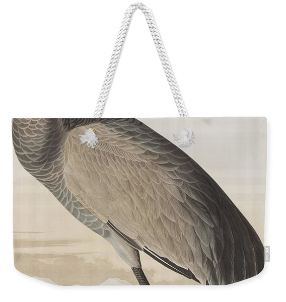 Hooping Crane Weekender Tote Bag